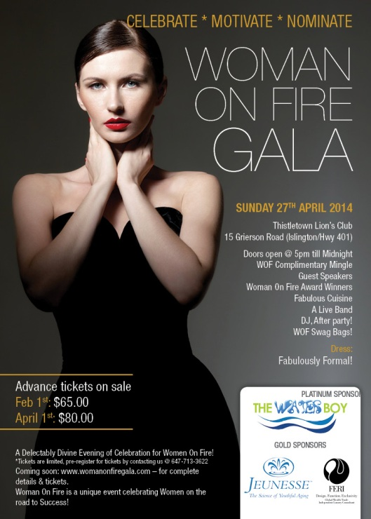 Woman On Fire Gala Event